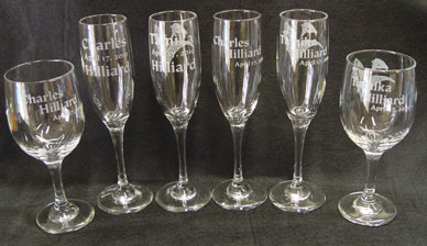 etched wine glasses - Etched Wine Glasses