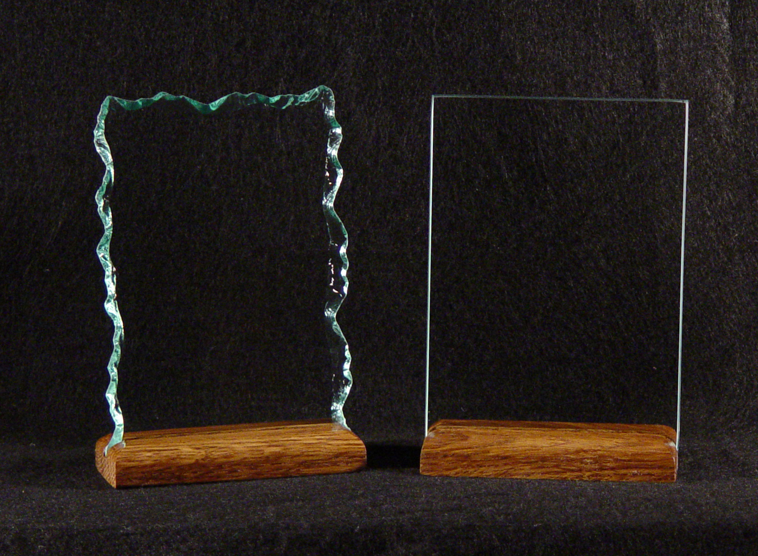 Custom Glass Family Plaques And Home Established Plaques